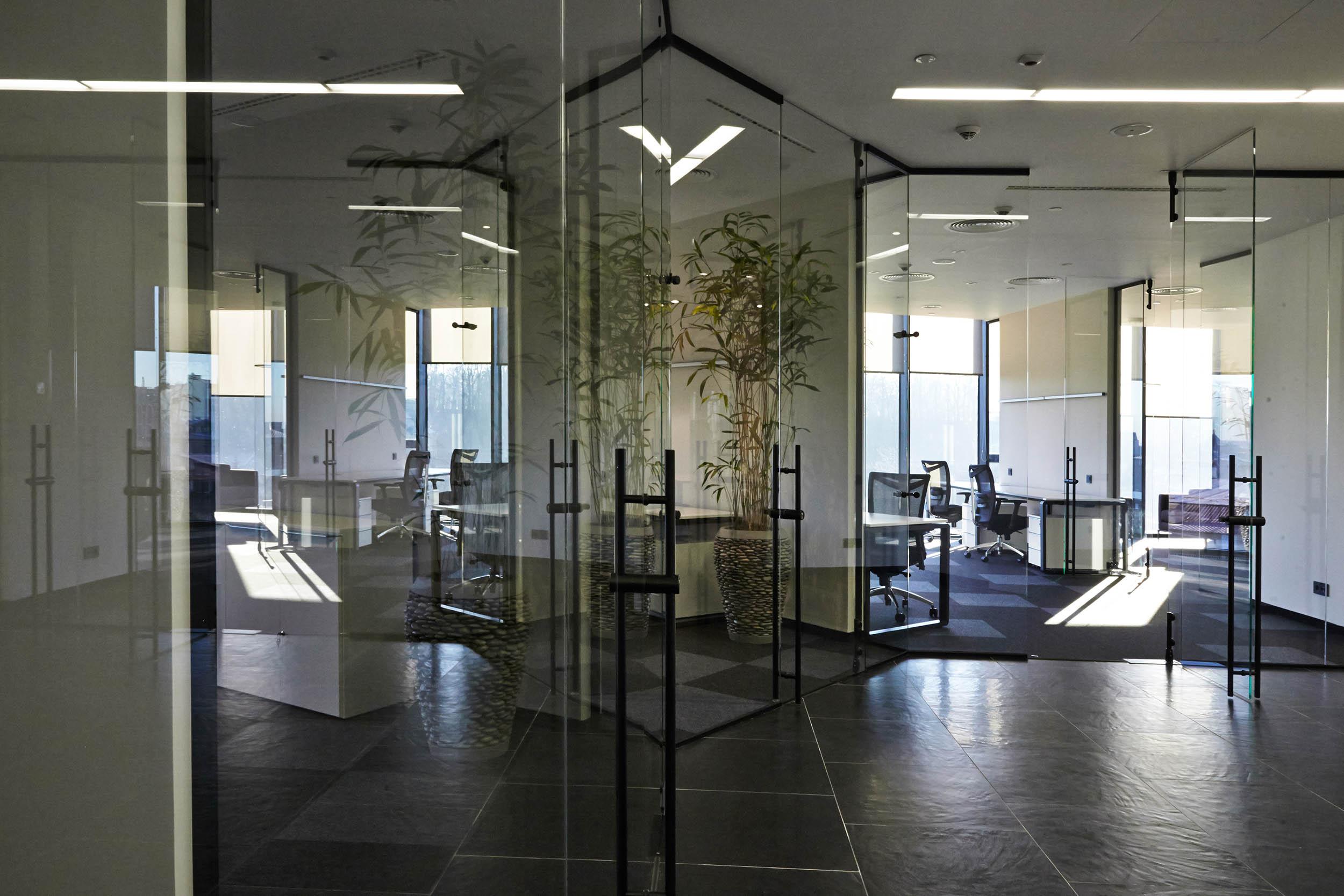 Interior in the business center iq for The interior company